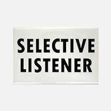 Selective Listener Rectangle Magnet