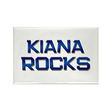 kiana rocks Rectangle Magnet