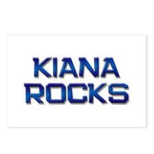 kiana rocks Postcards (Package of 8)