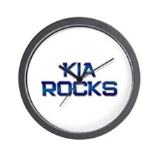 kia rocks Wall Clock