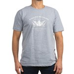 Winged Fist Men's Fitted T-Shirt (dark)