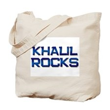 khalil rocks Tote Bag