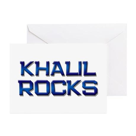 khalil rocks Greeting Cards (Pk of 20)