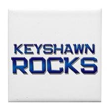 keyshawn rocks Tile Coaster