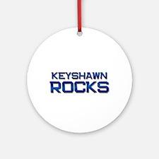 keyshawn rocks Ornament (Round)