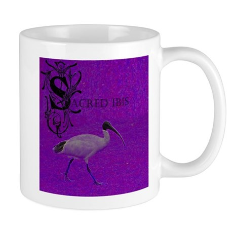 Sacred ibis CD Cover Mug