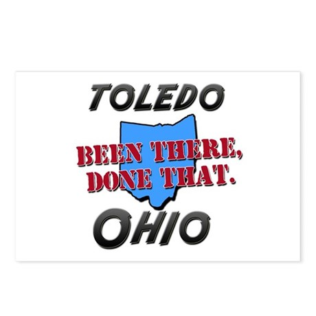 toledo ohio - been there, done that Postcards (Pac