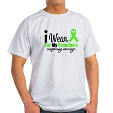 Lymphoma Courage Grandpa T-Shirt
