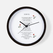 The Mighty Oak Wall Clock