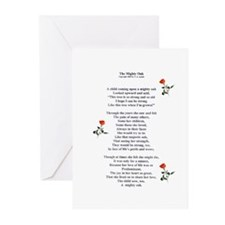 The Mighty Oak Greeting Cards (Pk of 10)