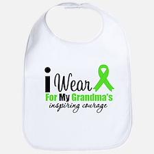 Lymphoma Courage Grandma Bib