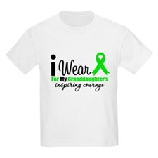 Lymphoma Courage Granddaughter T-Shirt