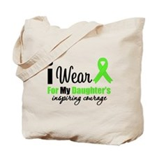LymphomaCourageDaughter Tote Bag