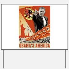 communist obama Yard Sign