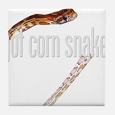 Got Cornsnake? Apparel Tile Coaster