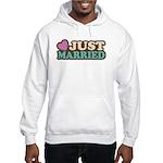 Just Married Hooded Sweatshirt