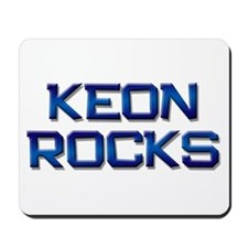 keon rocks Mousepad