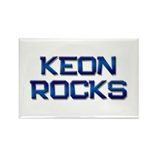 keon rocks Rectangle Magnet
