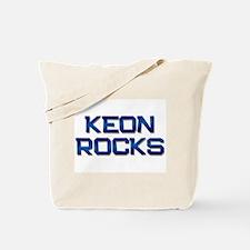 keon rocks Tote Bag