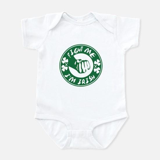 Fight Me! Im Irish Infant Bodysuit