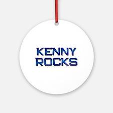 kenny rocks Ornament (Round)