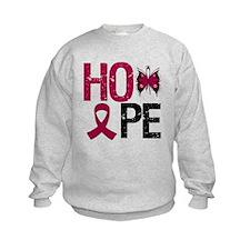 MultipleMyeloma Hope Sweatshirt