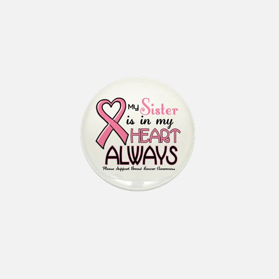 In My Heart 2 (Sister) PINK Mini Button