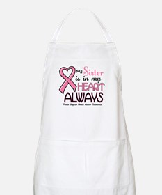 In My Heart 2 (Sister) PINK BBQ Apron