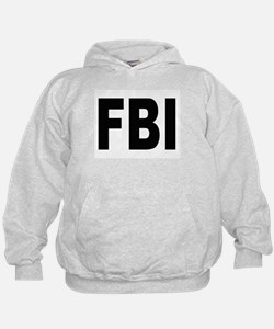 FBI Federal Bureau of Investigation (Front) Hoodie