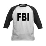 FBI Federal Bureau of Investigation Kids Baseball
