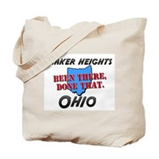 shaker heights ohio - been there, done that Tote B