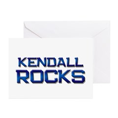kendall rocks Greeting Cards (Pk of 20)