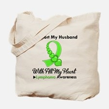 LymphomaSupportHusband Tote Bag