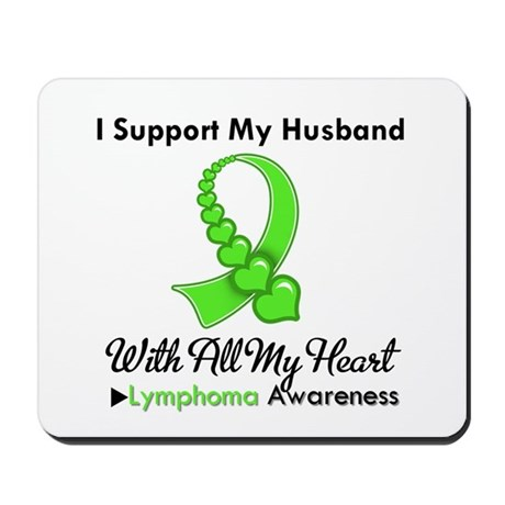 LymphomaSupportHusband Mousepad