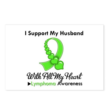 LymphomaSupportHusband Postcards (Package of 8)