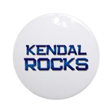 kendal rocks Ornament (Round)
