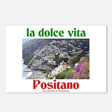 la dolce vita Positano Postcards (Package of 8)