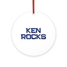 ken rocks Ornament (Round)