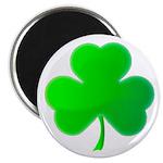 Bright Green Shamrock Magnet