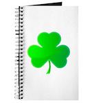 Bright Green Shamrock Journal