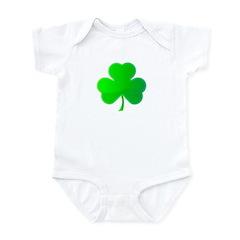 Bright Green Shamrock Infant Bodysuit