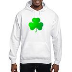 Bright Green Shamrock Hooded Sweatshirt