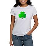 Bright Green Shamrock Women's T-Shirt