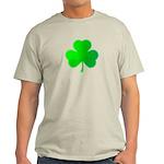 Bright Green Shamrock Light T-Shirt
