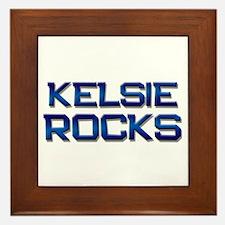 kelsie rocks Framed Tile