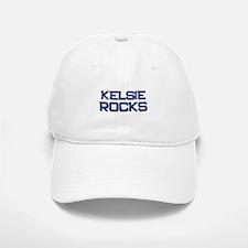 kelsie rocks Baseball Baseball Cap