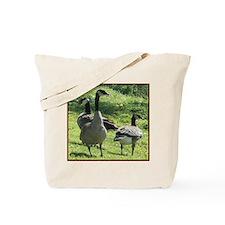 Cute Wild geese Tote Bag