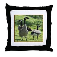 Cute Wild geese Throw Pillow