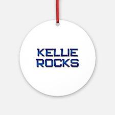 kellie rocks Ornament (Round)
