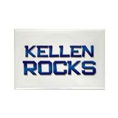kellen rocks Rectangle Magnet